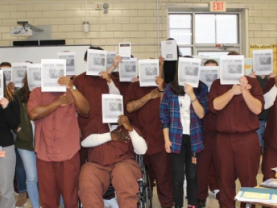Photograph of Inside-Out Literature Course Students